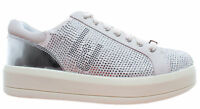 LIU JO Milano Chaussure Femme Sneakers Kim 07 Lace Up Microfiber Cow Suede White