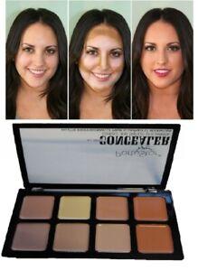 8 Colour Concealer Palette Face Makeup kit Contour Foundation Highlighter Cream
