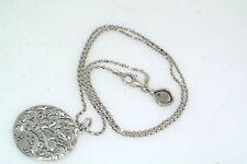 Silpada Sterling Silver Pierced Pendant Necklace