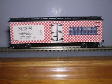 Main Line Models #HR-12  Ralston Purina 40' Wood Reefer #5503  Blt-up H.O. 1/87