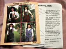 Marys Patrón de Costura, 4 Modelos Adornado Usable Arte Suéter para Mujer 8 Szs