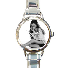 Arianna Grande Watch Italian Charm Watch Bracelet Analog Quartz Battery Included