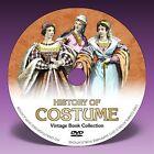 COSTUME HISTORY - 101 Vintage Fashion & Dress Books on DVD!