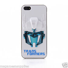 White / Blue 3D Transformers Optimus Prime iPhone SE 5S 5G 5 3D Full Back Case