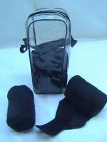 D.A. Brand Set of Four Black Soft Fleece Polo Wraps horse tack equine