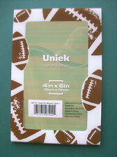 Uniek * Clearly Slim SPORTS MAGNETIC PICTURE FRAME Football Refrigerator Magnet