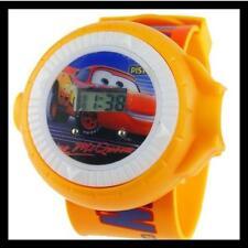Reloj  Proyector CARS RAYO MCQUEEN  para niño.  Se ilumina. A548