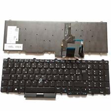 Clavier Français Original pour Dell Latitude E5550 E5570 E5580