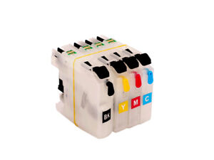 Refillable Ink Cartridge for Brother DCP-J4120DW DCP-J562DW MFC-J480DW NON OEM