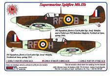 AML Models Decals 1/48 SUPERMARINE SPITFIRE Mk.IIb Fighter