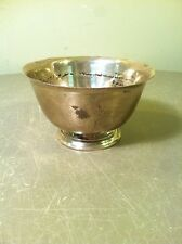 TIFFANY & Co. MAKERS STERLING SILVER MINI BOWL (23614) 3.75oz WEIGHT OF SILVER