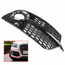 Right Front Lower Bumper Grill Grille Fog Light Cover For AUDI Q5 S Line 2013-16