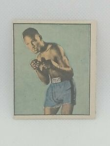 1951 Berk Ross Hit Parade of Champions Ezzard Charles #1-13 Boxing Card