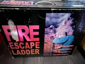 Fire escape ladder 15ft boxed
