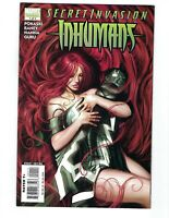 Secret Invasion: Inhumans #1 (August 2008) Marvel Comics, free shipping!