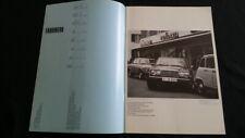 1976 Mercedes Zubehör 450SL 350SL 280SL SE SLC SEL 250 230 220 Prospekt Brochure