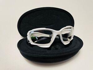 Oakley JAWBONE Rennradbrille, weiss, (die vonGeraint Thomas), diverse Gläser