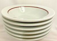 Shenango China USA Cereal Bowls Salad Dessert Restaurant Ware Vintage Stoneware