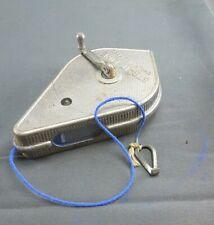 Vintage Tool Irwin Co. Plumb Bob Strait-Line Chalk Line Reel Pat'd Usa