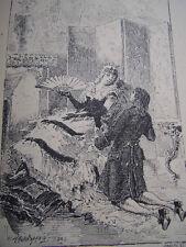 CURIOSA / LES JOYEUSES HISTOIRES DE NOS PERES 1893 N°7