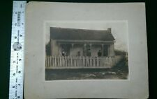 JB443 Antique 8x10 Matted Family Photo Collier Home at Russelville KY Kentucky