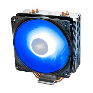 DISSIPATORE CPU DEEPCOOL GAMMAXX 400 VENTOLA PWM LED BLU AMD AM4 INTEL 115x