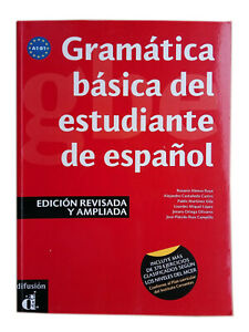 Gramatica basica del estudiante de espanol. Stud. Basic Grammar of Spanish A1-B1