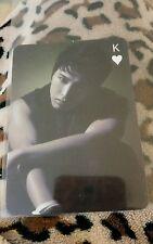 Super junior sungmin OFFICIAL trump photocard Kpop K-pop u.s seller