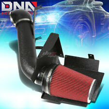 FOR 99-06 GMT800 CADILLAC ESCALADE/EXT V8 WRINKLE FINISH AIR INTAKE+HEAT SHIELD
