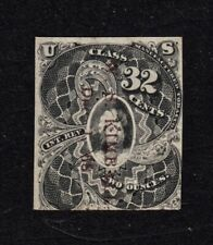 U. S. INTR. REV. TOBACCO STAMP TF4, 2-OUNCE, CLASS 32 CENT. USED, VERY FINE.