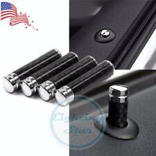 Carbon Fiber Door Lock Pins Modified Knob Kit BMW 1 3 5 7 Series X1 X3 X4 X5 X6