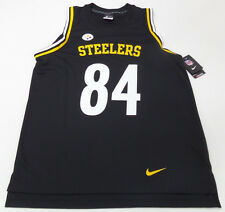 NEW NIKE MENS Pittsburgh Steelers SLEEVELESS TANK TOP JERSEY NFL Large #84 Brown