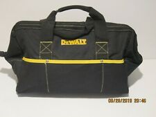 """DeWalt DG5563 18"""" PRO CONTRACTORS CLOSED TOP TOOL BAG MANY POCKETS NWOTS  F/SHIP"""