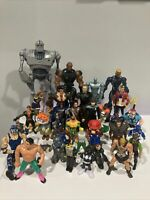 30+ Vintage Action Figure Lot, TMNT, Power Rangers, MOTU, Rugrats, WWF, Mario