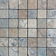 Antique Onyx 2x2 Tumbled Travertine Tile Floor And Wall Backsplash Bath Kitchen