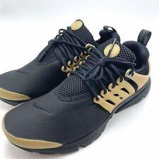 Nike Air Presto Essential Men's Running Black/Black-Metallic Gold 848187-007