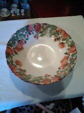 "Nikko  PRECIOUS 9303 Japan 9 3/8"" Round Vegetable Serving Bowl bin 1050"