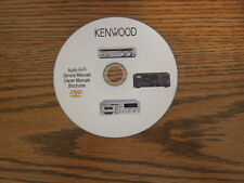 Kenwood Audio Repair Service Schematics manuals on dvd in pdf format vol.3