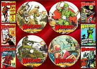 Warlord UK Comics (1-627) + Annuals + Specials On 4 PC DVD Rom's (CBR FORMAT)
