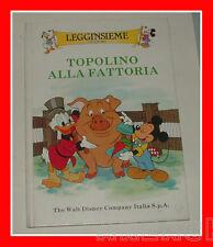 LEGGINSIEME (tu con me) TOPOLINO ALLA FATTORIA Walt Disney 1988