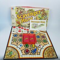 1983 Scavenger Hunt Board Game Milton Bradley Complete Search Seek Madcap
