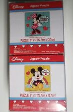 """14 Cubes Of 12 PC Jigsaw Puzzle Party Pack Minnie & Mickey Mouse 5"""" 168 TOTAL"""