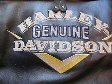 "VINTAGE HARLEY DAVIDSON ""VICTORY"" DISTRESSED LEATHER JACKET - MEN'S MEDIUM !!"