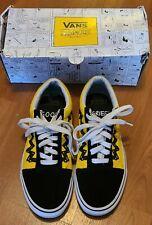 Vans x Peanuts Old Skool Charlie Brown Sz 5 Mens - 6.5 women's Good Grief! Shoes