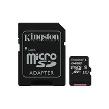 Kingston Sdcs/64gb MicroSD Karte 64 GB Uhs-i klasse 10 Adapter SD