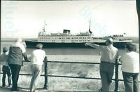 "1989 Monas Queen sailing to Isle of Man from Fleetwood 9.5*6.5"" press photo"