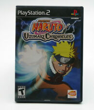 Naruto: Uzumaki Chronicles PS2 Sony PlayStation 2  Complete TESTED FREE SHIPPING