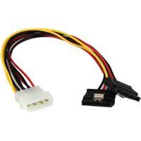 StarTech PYO2LP4SATA StarTech.com 12in LP4 to 2x SATA Power Y Cable Adapter - LP