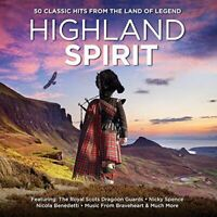 Various - Highland Spirit 50 Classic Hits From The Land Of Legend 3CD 2014 USED