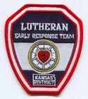 Lutheran Early Response Team LERT Kansas District EMS Patch Kansas KS